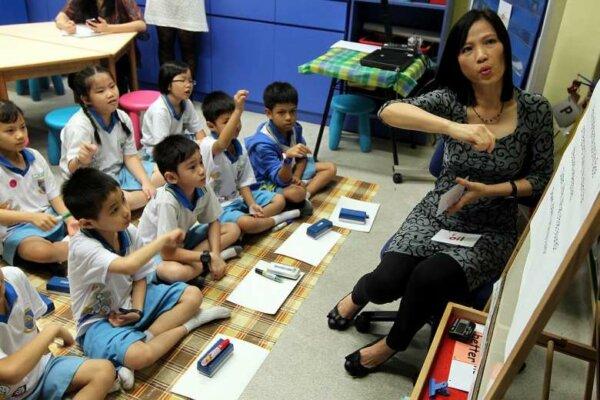 Một ngày làm việc của giáo viên Singapore