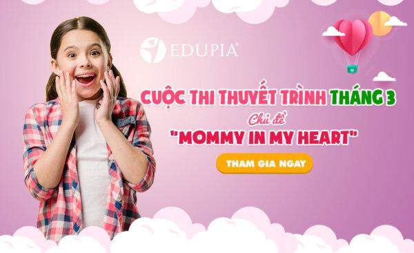 Thông báo Cuộc thi thuyết trình Tháng 3 trên EDUPIA
